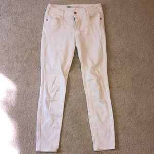 White jeans. Perfect condition